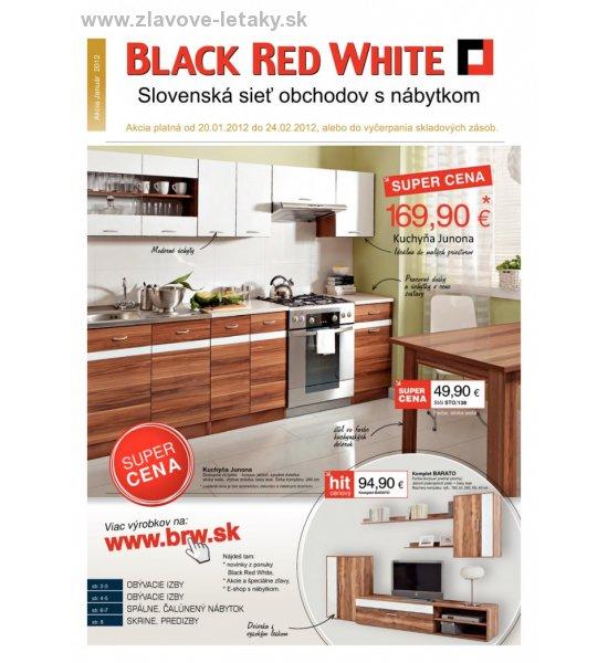 21b1bbabd7f0c Black Red White akčný leták