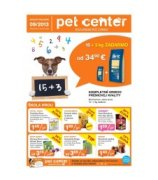extra leták Pet Center