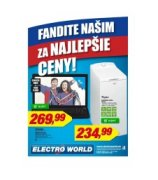 Electro World akciov� let�k