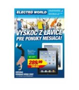 aktu�lny let�k Electro World
